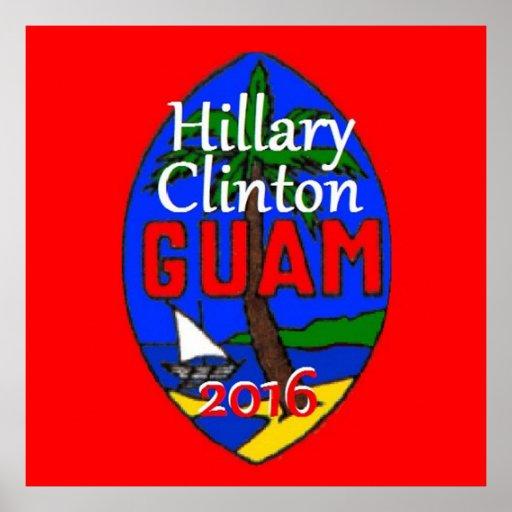 Clinton Guam 2016 Posters