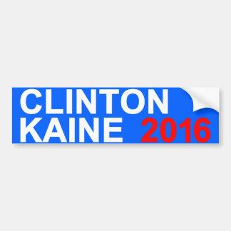 Clinton Kaine 2016 Bumper Sticker