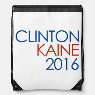 Clinton Kaine 2016 Drawstring Backpack