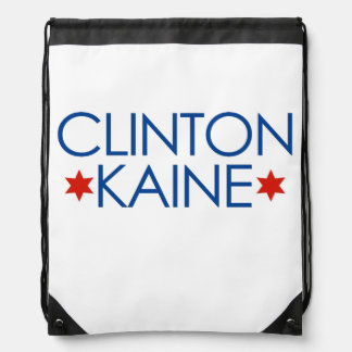 Clinton Kaine 2016 Drawstring Bags