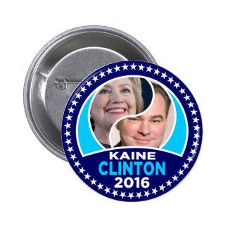 Clinton Kaine 2906 2 Inch Round Button