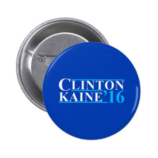 Clinton Kaine Campaign Logo 2 Inch Round Button