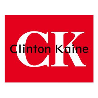 Clinton Kaine - CK 2016 Postcard