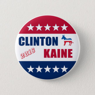 Clinton Kaine | Election 2016 2 Inch Round Button