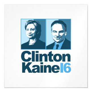 Clinton Kaine for America 2016 Magnetic Invitations