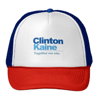 Clinton Kaine - Together we win Trucker Hat