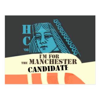 Clinton MANCHESTER Postcard