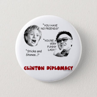 clintondiplomacy2 2 inch round button