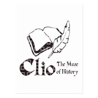 Clio Postcard