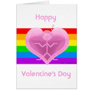Clio Valentine's Pride Card