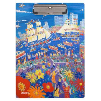 Clip Board Greenwich Tall Ships London John Dyer Clipboard