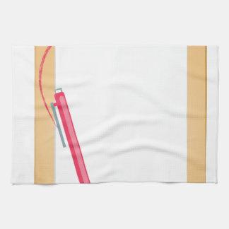 Clipboard & Pencil Hand Towels