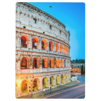 Clipboards Colosseum Rome Italy