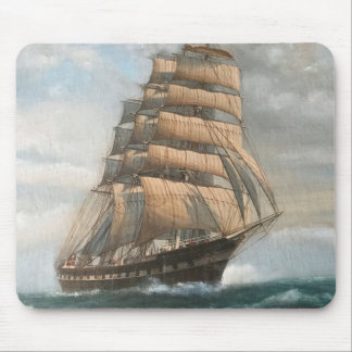 Clipper Ship Mouse Pad