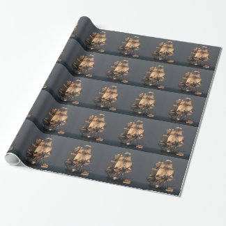 Clipper Ship Wrapping Paper