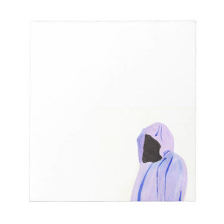 Cloaked Figure Notepad