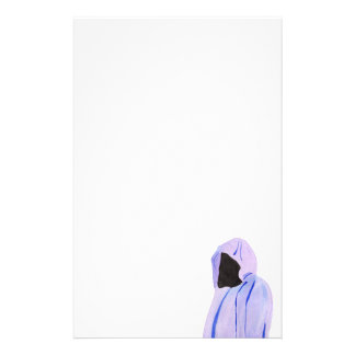 Cloaked Figure Stationery