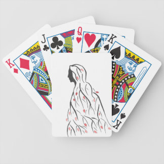 Cloaked In Autumn Bicycle Playing Cards