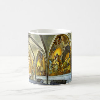Cloatre Gallery with frescoes of St. Mary Coffee Mug