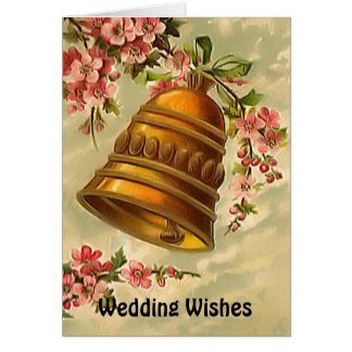 Cloches de mariage carte