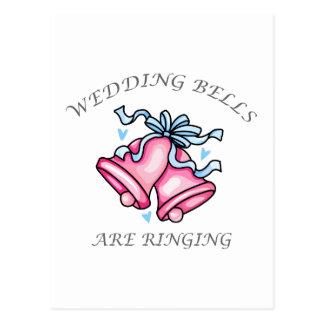 CLOCHES DE MARIAGE CARTE POSTALE