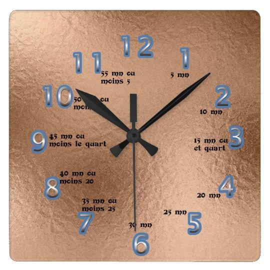 clock apprendre l'heure