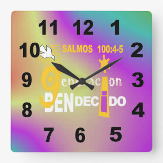 Clock Bendecido