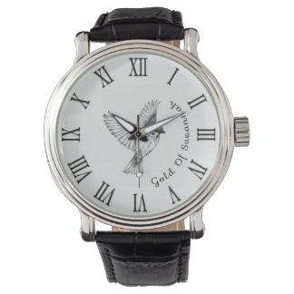 Clock bird Vintage Gold Of Savannah Watch