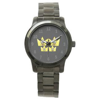 Clock Bracelet Great Black - Gay Family Watch