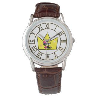 Clock Brown Leather - Transgênero Transexual Watch