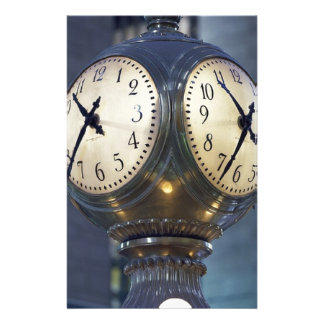 Clock Concourse Grand Central Station New York Stationery