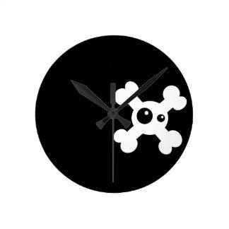 "Clock ""Death's head """