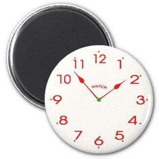 clock face_02 magnet
