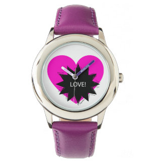 Clock for Love girl! Watch