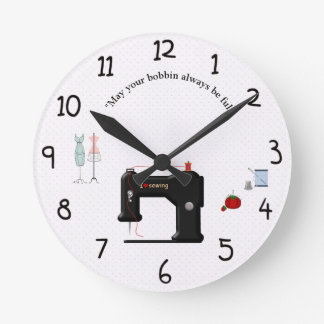 Clock for the crafter or sewist in your life