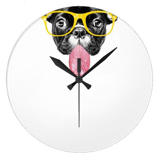 Clock French Bulldogge