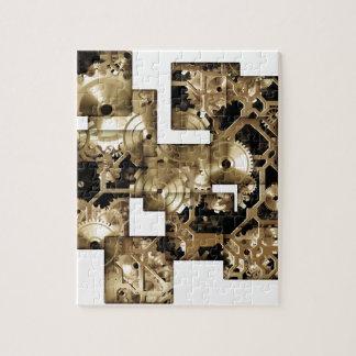 Clock Gears Jigsaw Puzzle