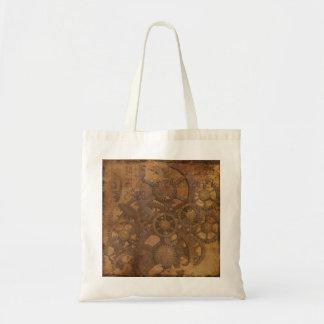 Clock Gears Steampunk Art Tote Bag