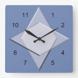 Clock - Geometric Pattern