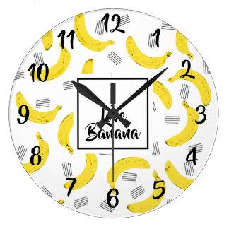 Clock I COILS BANANA