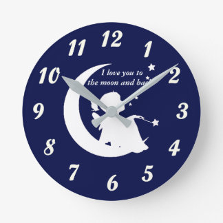 Clock - I Love You to the Moon and Back!