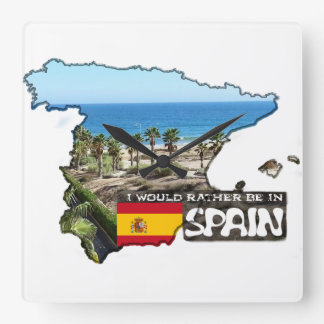 [Clock] I'd rather be in Spain Wallclock
