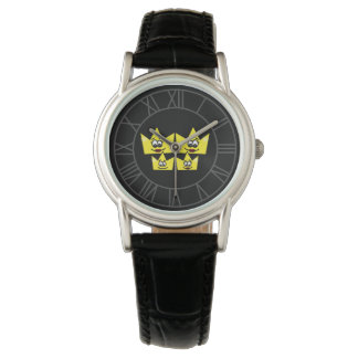 Clock Leather Bracelet - Gay Family - Women Watch