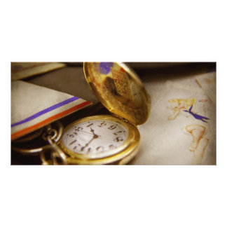 Clock Maker - Time never waits Photo Cards