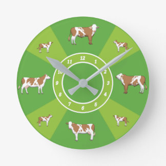 Clock of cows
