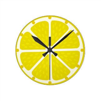 Clock of lemon