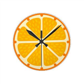 Clock of orange