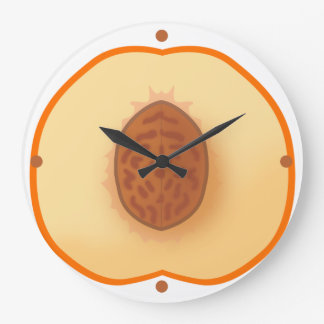 Clock of peach