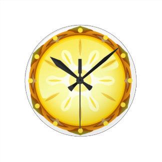 Clock of pineapple