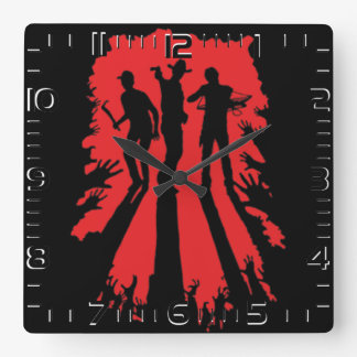 "Clock of wall ""Hunters """